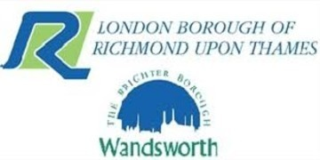 London Borough of Richmond Upon Thames and Wandsworth logo