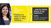 EY's flexible approach to recruiting and retaining returning professionals