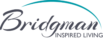 Bridgman Inspired Living logo
