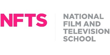The National Film and Television School (NFTS) logo
