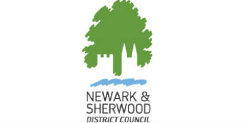Newark & Sherwood Council logo