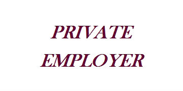 Private Employer  logo