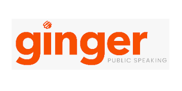 Ginger Public Speaking logo